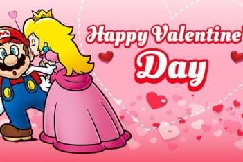 San Valentin Nintendo parejas amor