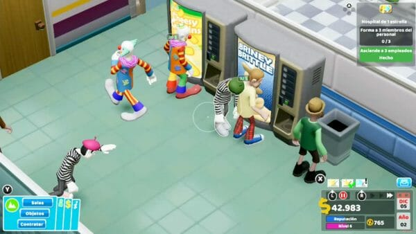 Análisis Two Point Hospital Switch 16