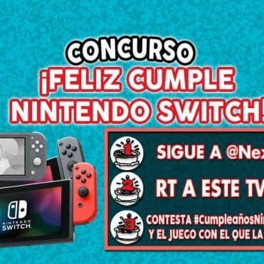 Concurso Cumpleaños Nintendo Switch
