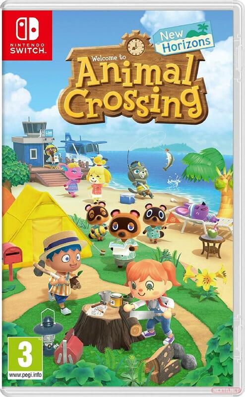 Animal Crossing New Horizons boxart