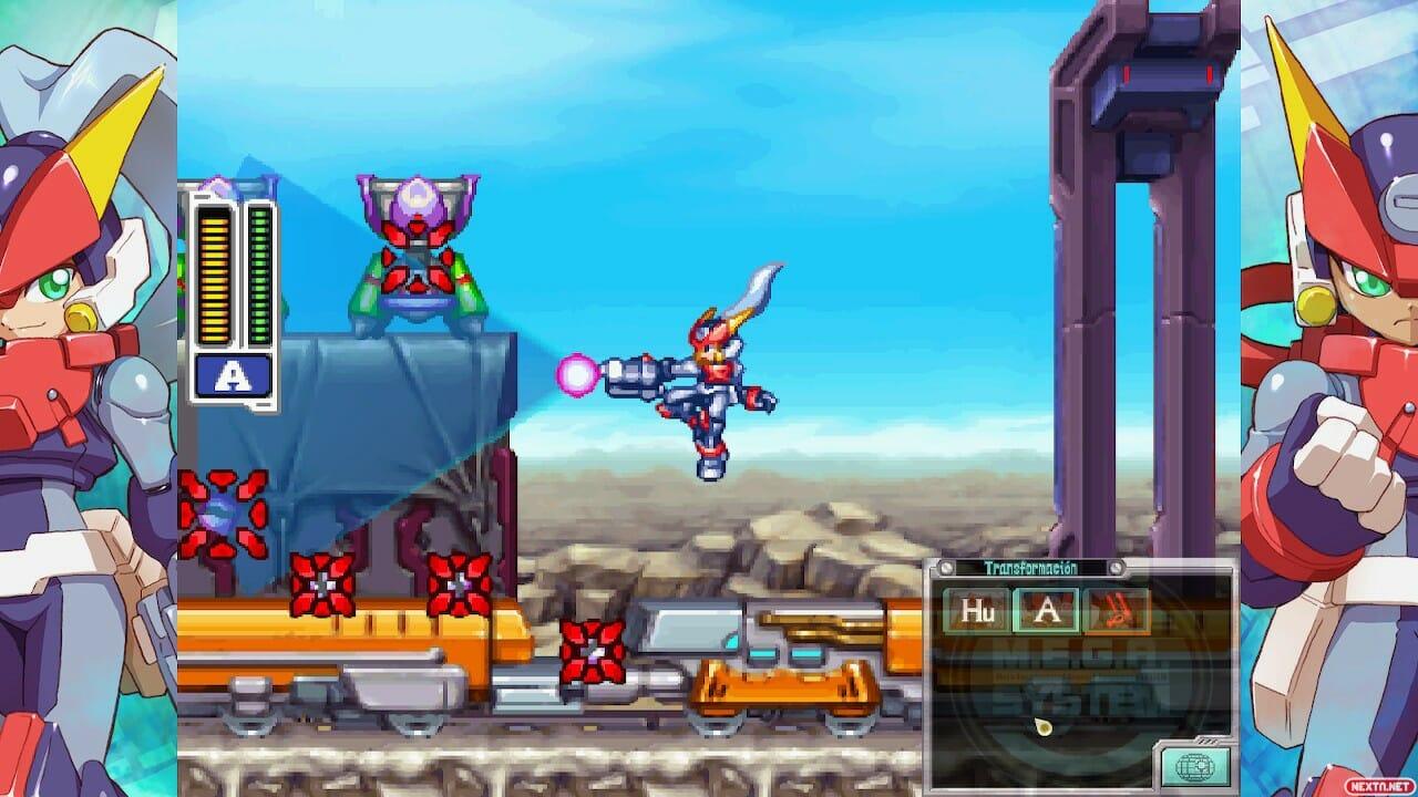 Mega Man Zx Collection
