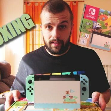 Switch Animal Crossing New Horizons Unboxing