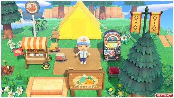 Animal Crossing: New Horizons promoción