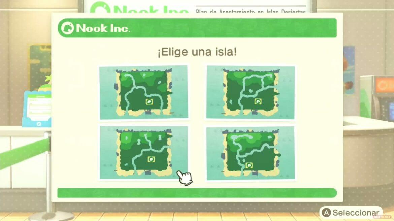 Guía Animal Crossing New Horizons forma isla