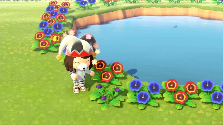 Guía Animal Crossing New Horizons plantar flores colores híbridos