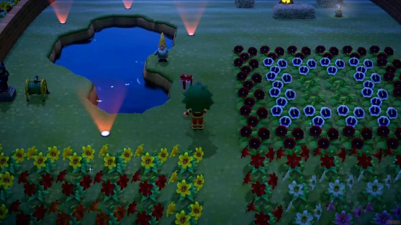 Guía Animal Crossing New Horizons regalo casi cae agua