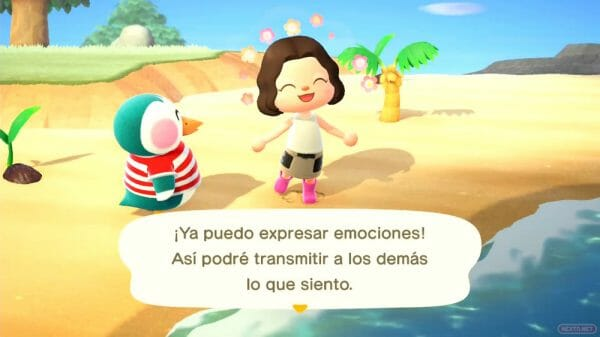 Guía Animal Crossing New Horizons aprender emociones