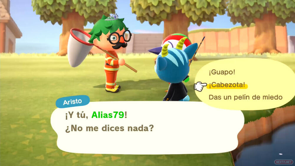 Guía Animal Crossing New Horizons charla vecinos 01