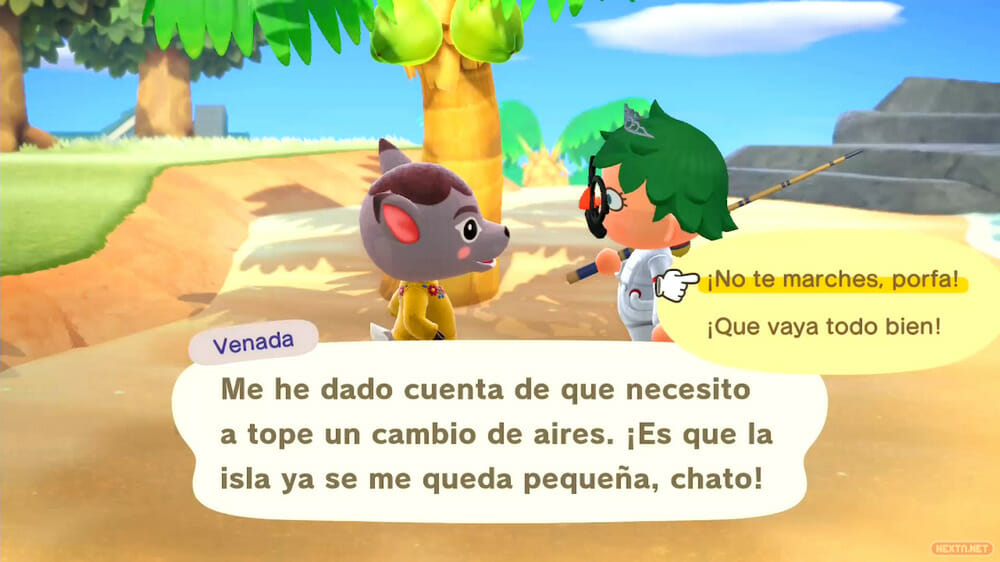 Guía Animal Crossing New Horizons echar de la isla