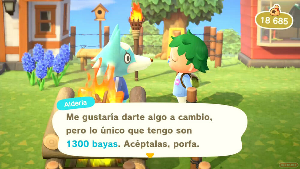 Guía Animal Crossing New Horizons vecinos te pagan por regalos