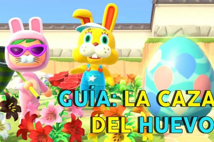 Animal Crossing: New Horizons evento caza del huevo