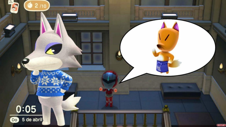Colmillo Mueso galeria obras de arte Animal Crossing New Horizons