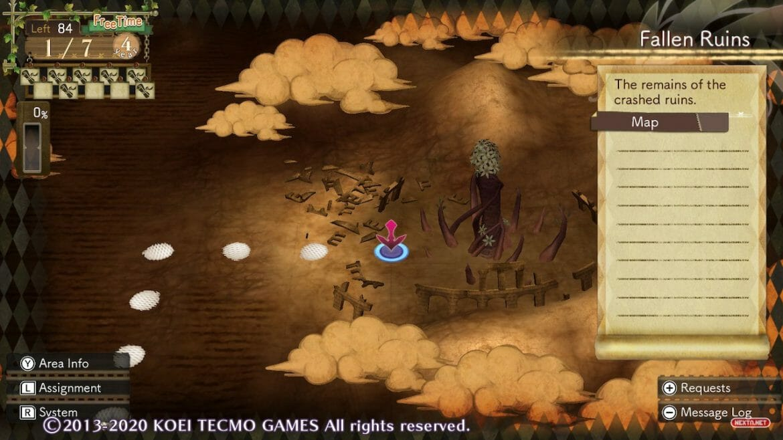 Sky King Fossil Atelier Escha & Logy Alchemists of the Dusk Sky DX Tutorial Nintendo Switch
