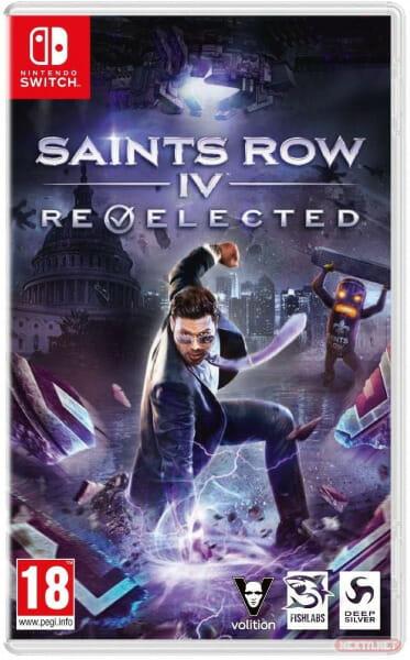 boxart Saints Row IV Re-Elected Switch
