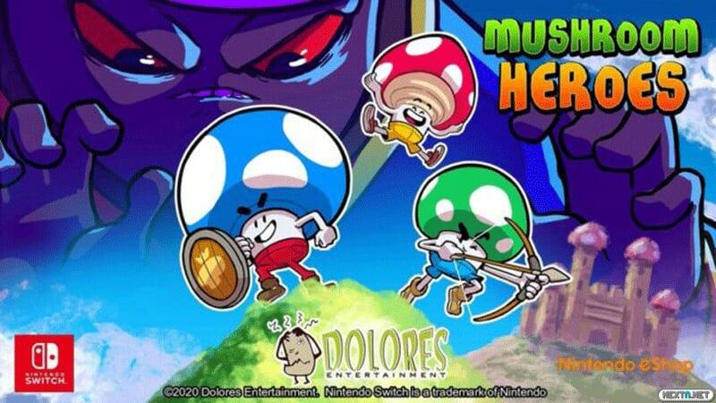 Mushroom Heroes Switch