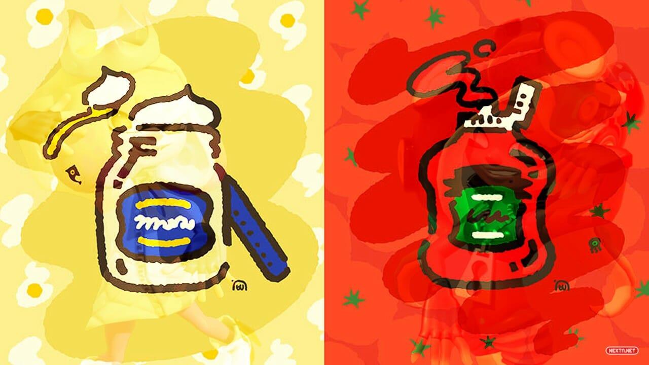 Splatoon 2 Vuelve Splatfest Ketchup vs Mayonesa Nintendo Switch Online Demo