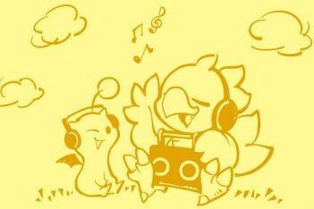 Home de Chocobo Square Enix