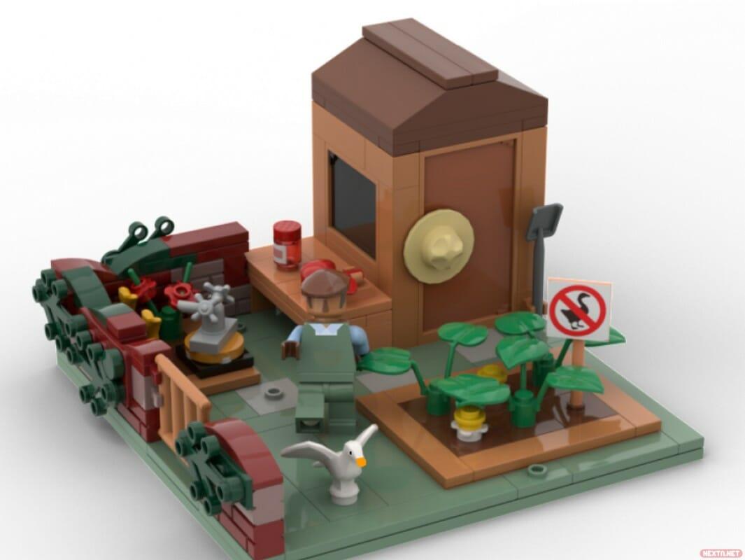 LEGO Untitled Goose Game