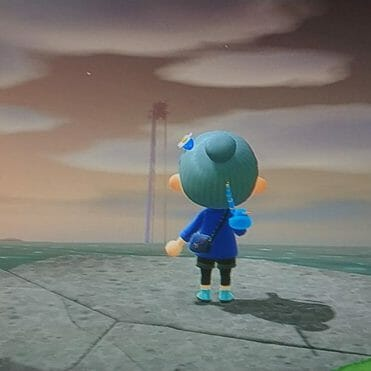 Animal Crossing New Horizons imagen misteriosa