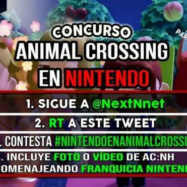 Concurso Animal Crossing en Nintendo