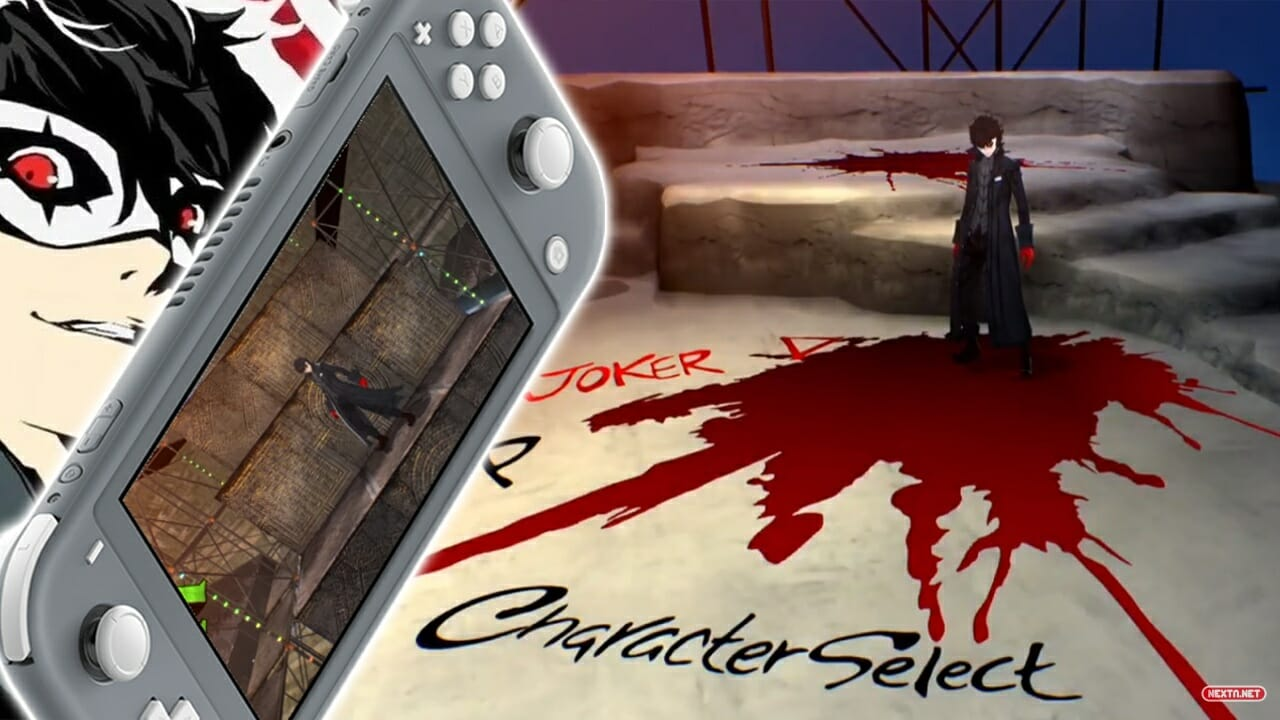 Catherine Full Body Joker Persona 5 Nintendo Switch