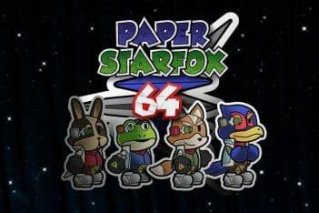 Paper Star Fox 64