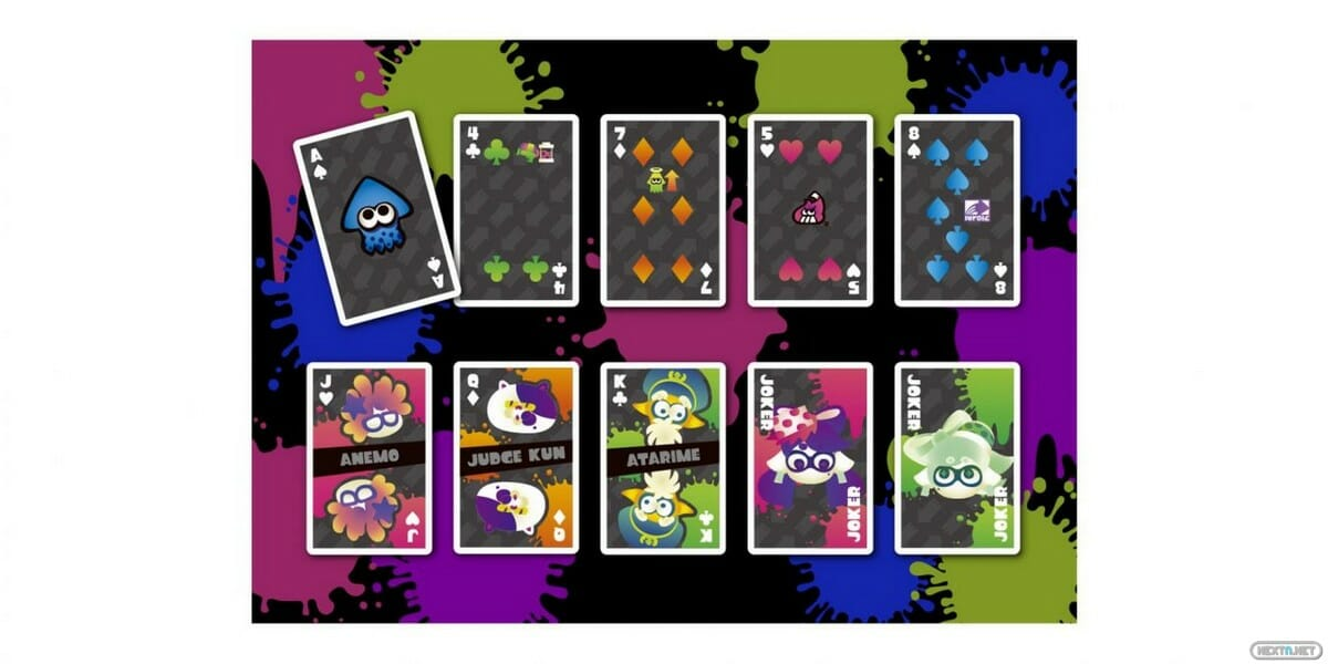 cartas splatoon 2