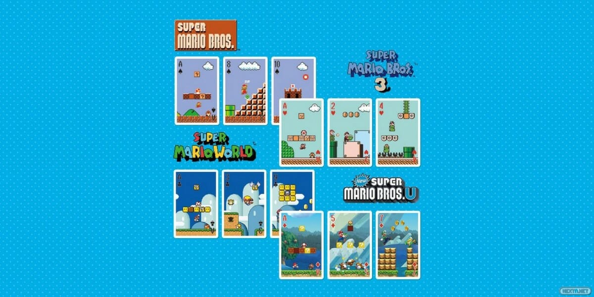 cartas new super mario bros