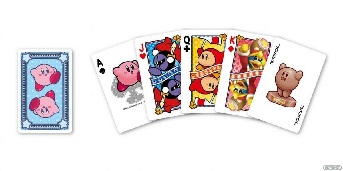 baraja cartas kirby