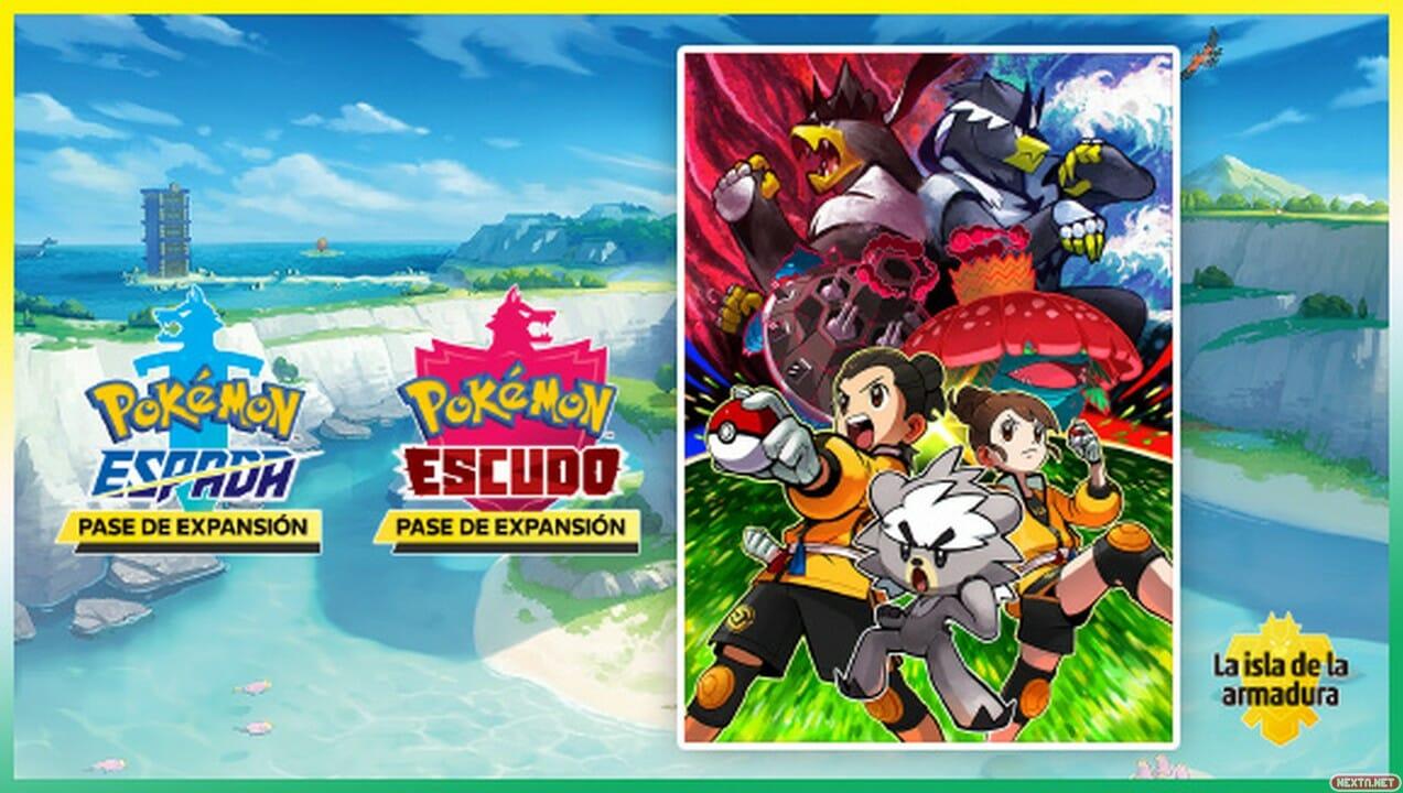 Pokemon Espada Escudo Isla Armadura Switch 01