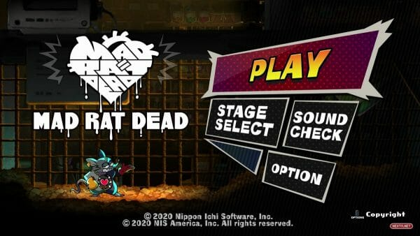 Mad Rat Dead Heart Pounding Edition Nintendo Switch 30 Octubre Fecha Lanzamiento