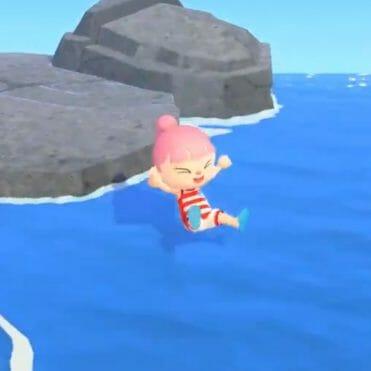 Animal Crossing New Horizons actualizacion verano nadar bucear