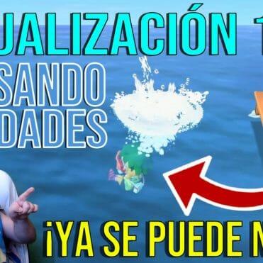 Actualizacion 1.3.0 Animal Crossing New Horizons nadar y bucear