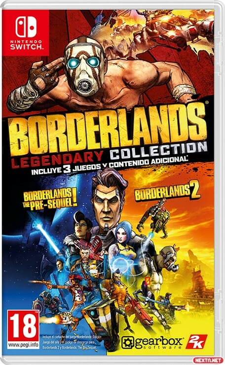 La Colección Legendaria de Borderlands Nintendo Switch