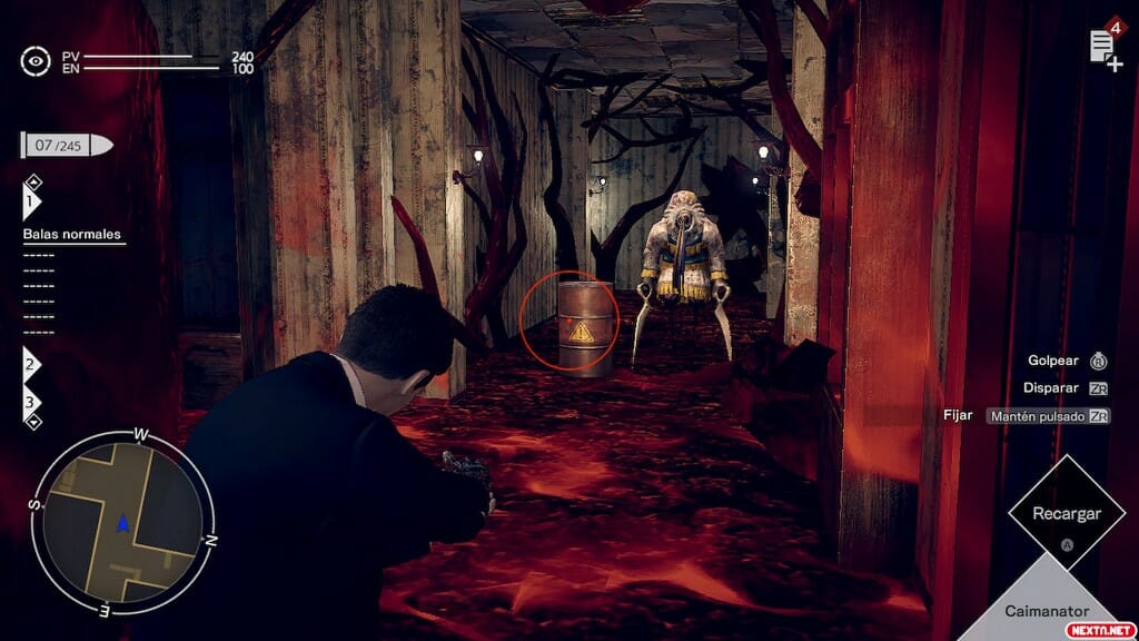 Deadly Premonition 2 combate