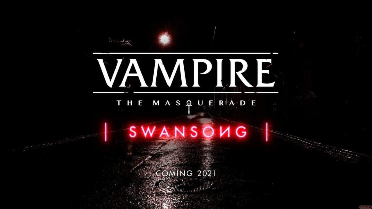 Vampire the Masquerade Swansong