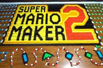 Dominó Super Mario Maker 2 TheDominoKing