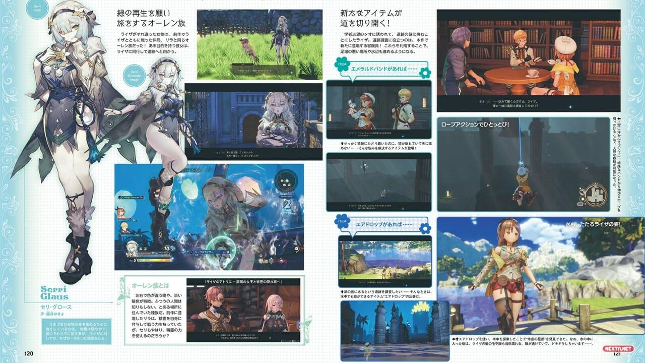 Atelier Ryza 2 Lost Legends and the Secret Fairy Presenta Serri Glaus Confirma Tao Personaje Jugable Nintendo Switch