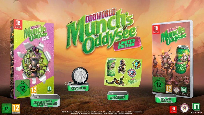 Oddworld Munch's Oddysee edición especial