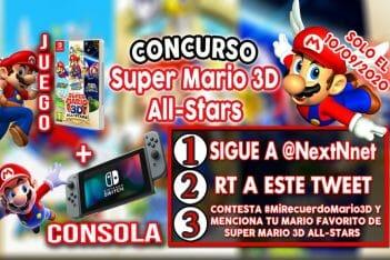 Concurso Super Mario 3D All-Stars