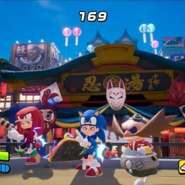 Ninjala Sonic the Hedgehog