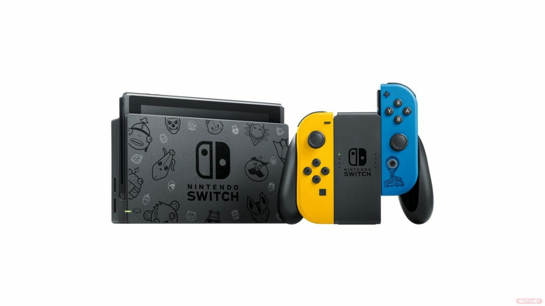 consola Nintendo Switch Fortnite edición especial