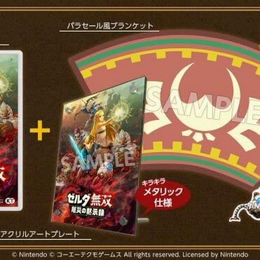 Hyrule Warrior La era del cataclismo edicion especial japon Nintendo Switch