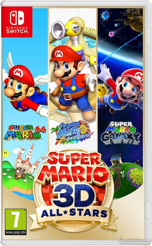 Super Mario 3D All-Stars boxart