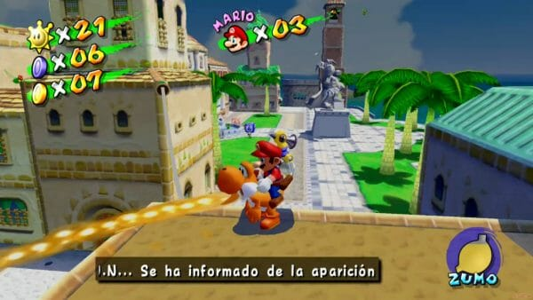 Análisis Super Mario 3D All-Stars Super Sunshine