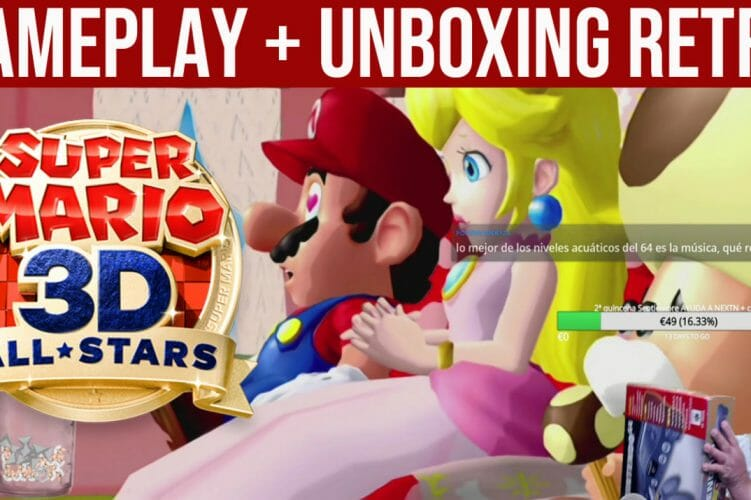 Gameplay Super Mario 3D All-Stars