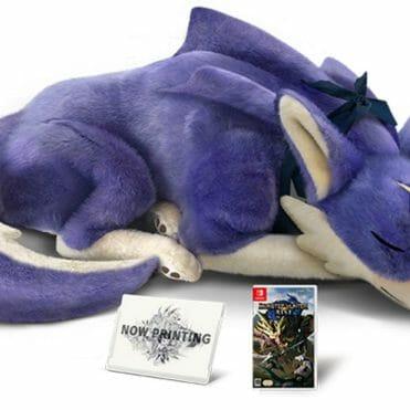 Monster Hunter Rise edición limitada peluche canyne