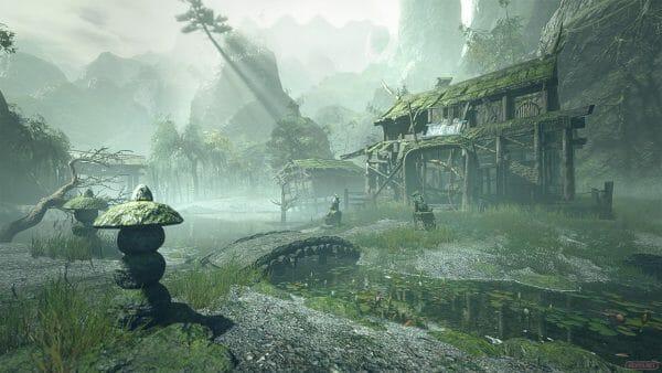 Monster Hunter Rise Templo olvidado Santurario en runas
