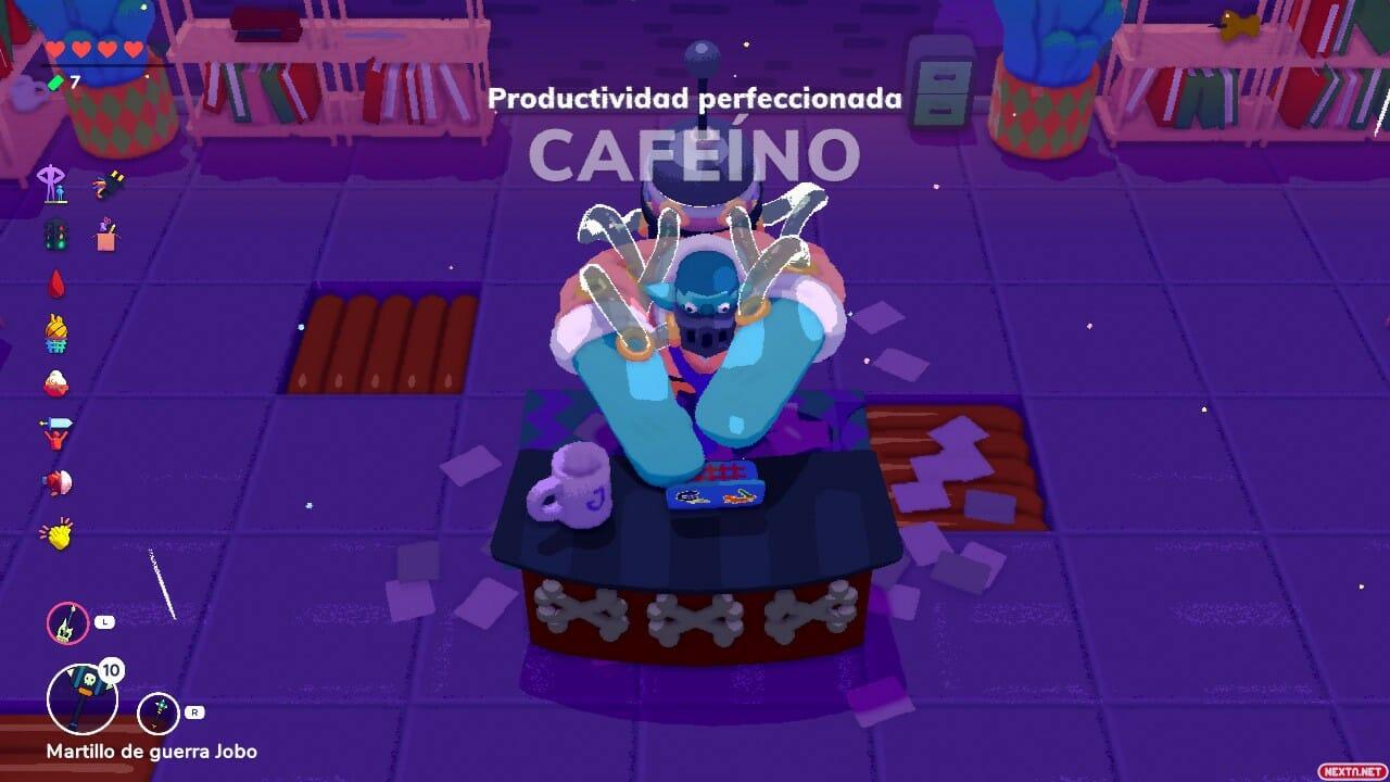 Going Under Boss Cafeino