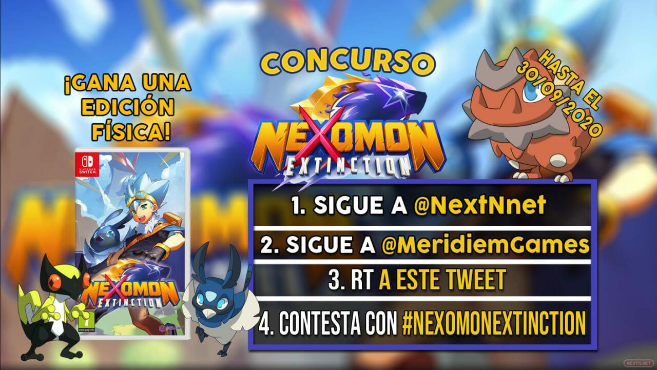 Concurso Nexomon Extinction